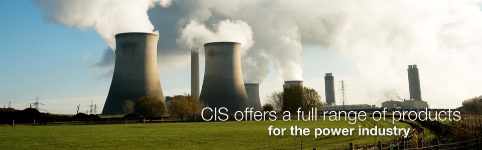 CIS offers a full range of products for the power industry