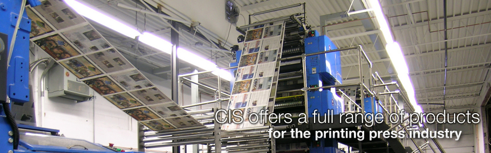 CIS offers a full range of products for the printing press industry