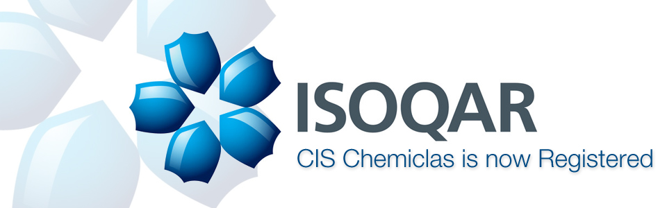 CIS Chemiclas is now Registered