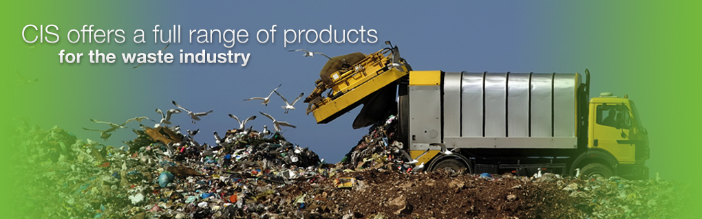 CIS offers a full range of products for the waste industry